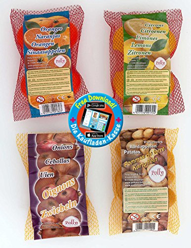Polly Shopper-9925 Gioco Negozio Miniature Frutta e Verdura, 9925
