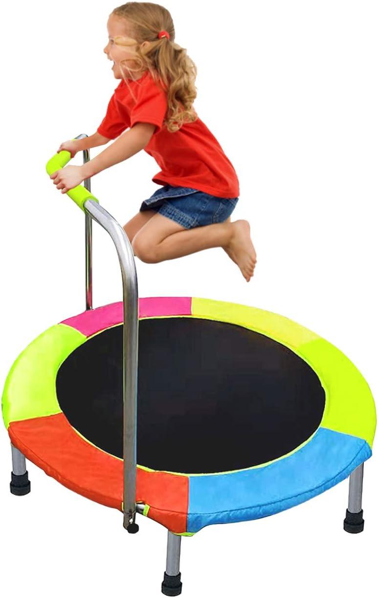 ALPIKA Trampolines for Kids, Mini Kids Trampoline 38 Inch Indoor