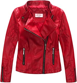 kids red bomber jacket