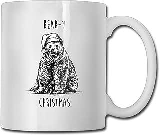 FOOOKL Bear-y Christmas 11oz Tea Cup Coffee Mug