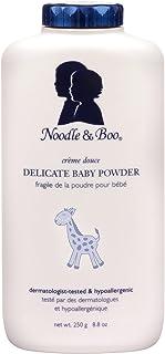 Noodle & Boo Delicate Baby Powder، طبیعی، تالک رایگان، 8.8 اونس