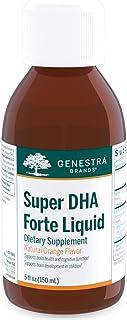Genestra Brands - Super DHA Forte Liquid - Support for Bone Health and Cognitive Function - 5 fl. oz. - Natural Orange Flavor
