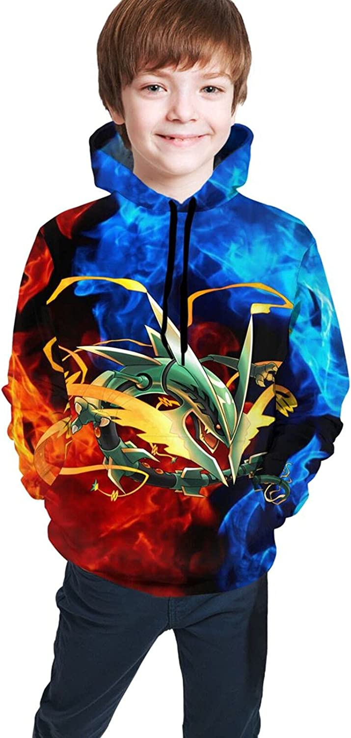 Rayquaza Halloween Youth Full Sweater, Suitable For All Kinds Of
