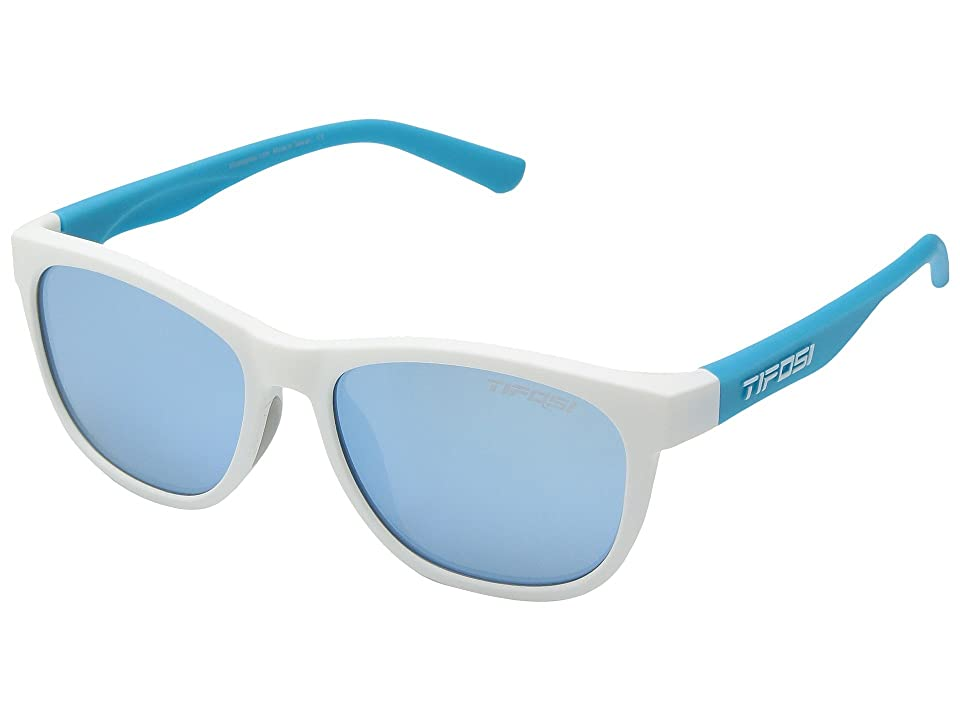 Tifosi Optics Swank (Frost/Powder Blue) Athletic Performance Sport Sunglasses