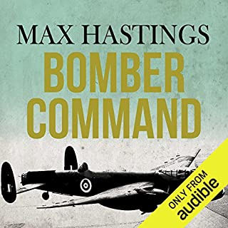 Bomber Command audiobook cover art