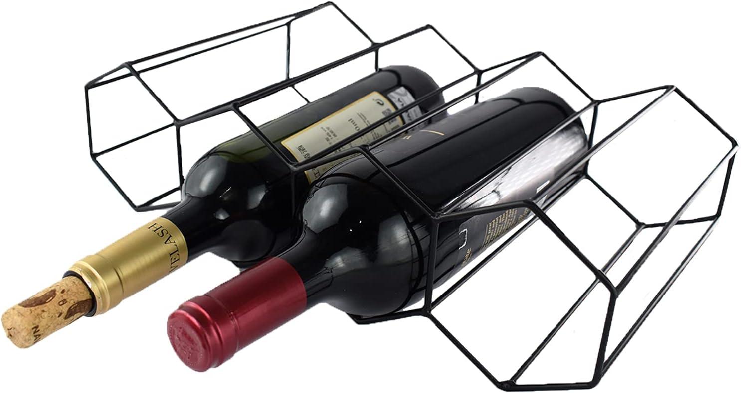 Wtiujhg Alternative dealer Wine Rack Bottle Free-Standing 5 popular Holder Bottl Water