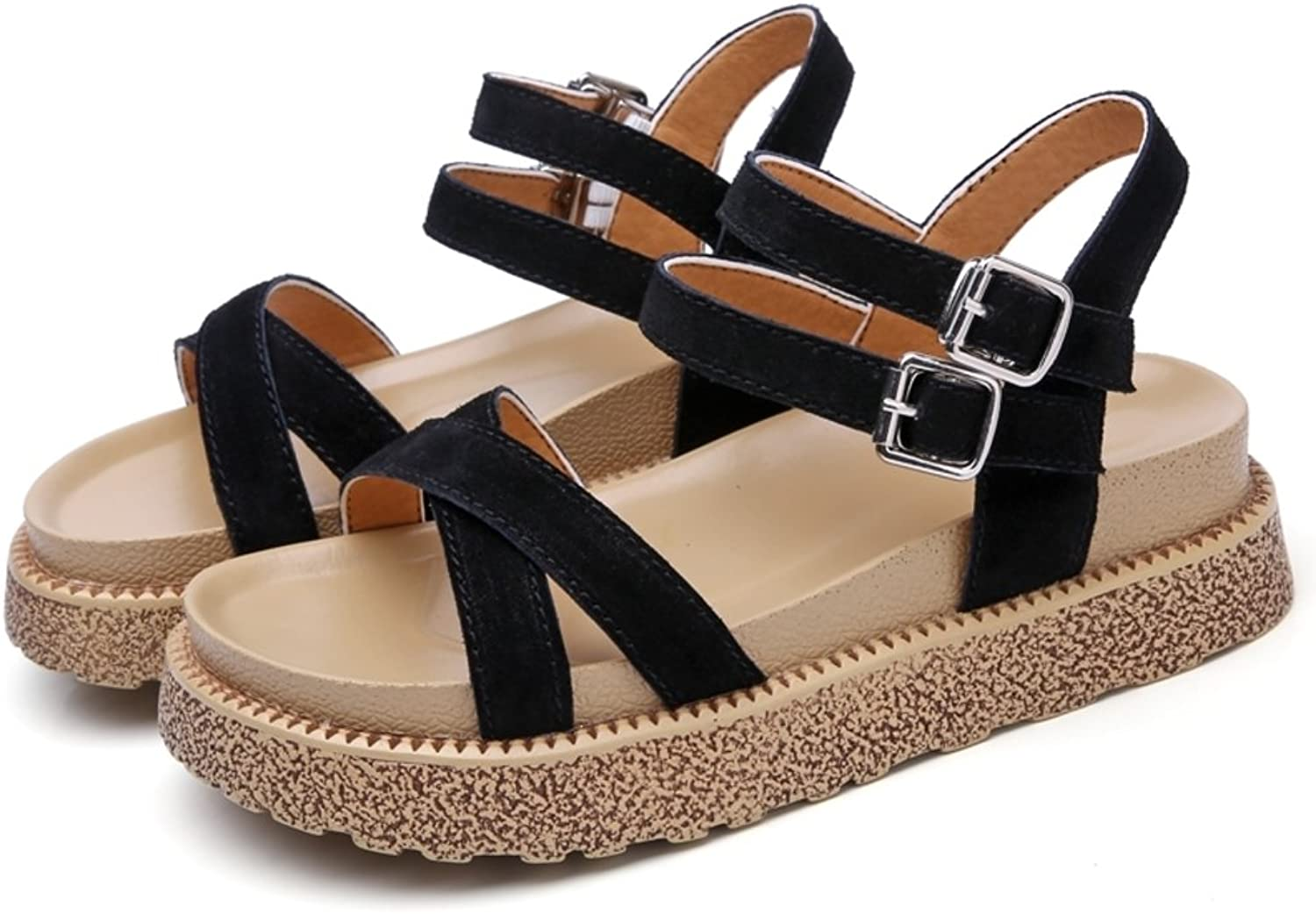MET RXL Summer,Thick-Soled,Middle Heel Sandals Lady,Flat,Comfort Sandals