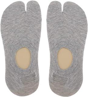 Calcetines Tabi Calcetines 2 Dedos Calcetín de Algodón Lisos de Longitud Corta Deportes para Hombre Mujer