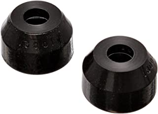Energy Suspension 9.13101G O.E.M. Style Tie Rod End Boot, Black - Pack of 2