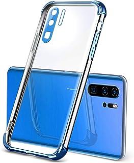 Oihxse Funda Transparente Compatible con Vivo S7 Carcasa Protection Anti-Golpes Anti-caída Cover con Brillantina Enchapado...