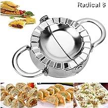 Stainless Steel Dumpling Maker-Multifunctional Kitchen Accessories Use as Dumpling Press, Empanada Press, Pie Ravioli Dumpling Wrappers Mold, Dough Cutter, Large Option(9.5cm/3.74'')