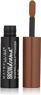 Maybelline New York Brow Drama Shaping Chalk Powder, Auburn, 0.035 fl. oz.