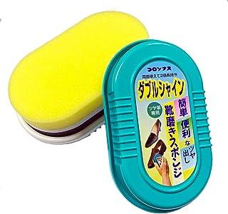 [コロンブス] ダブルシャイン(両面タイプ) ツヤ革専用簡単靴磨き(日本製)