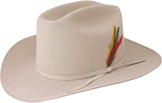Stetson Cowboy Hat 4X Beaver Fur Felt Silverbelly Range