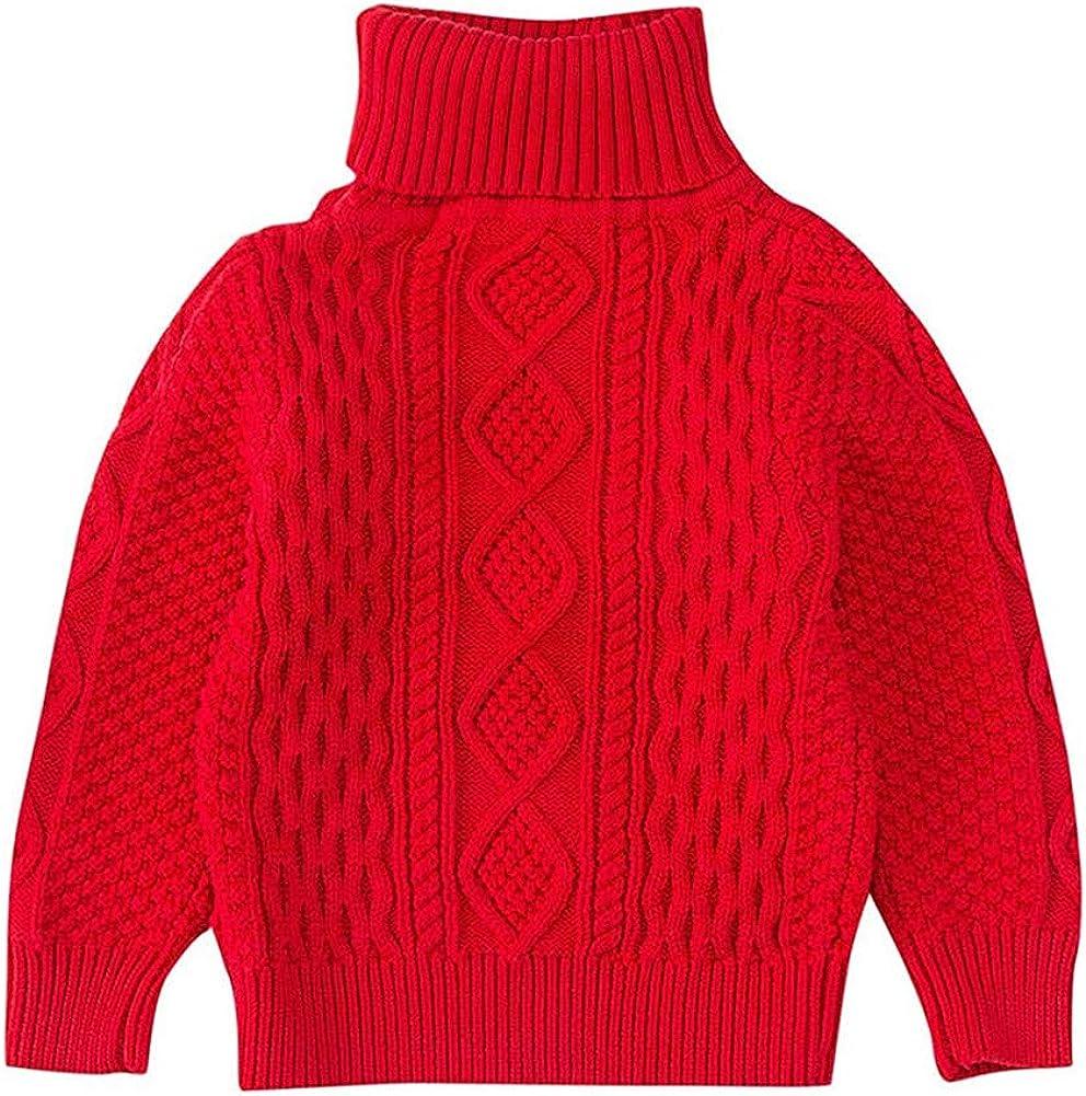 Mud Kingdom Little Boy Turtleneck Sweater Cable Knit
