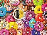 "Buffalo Games - Aimee Stewart - Coffee and Donuts - 1000 Piece Jigsaw Puzzle Multi, 26.75""L X 19.75""W"