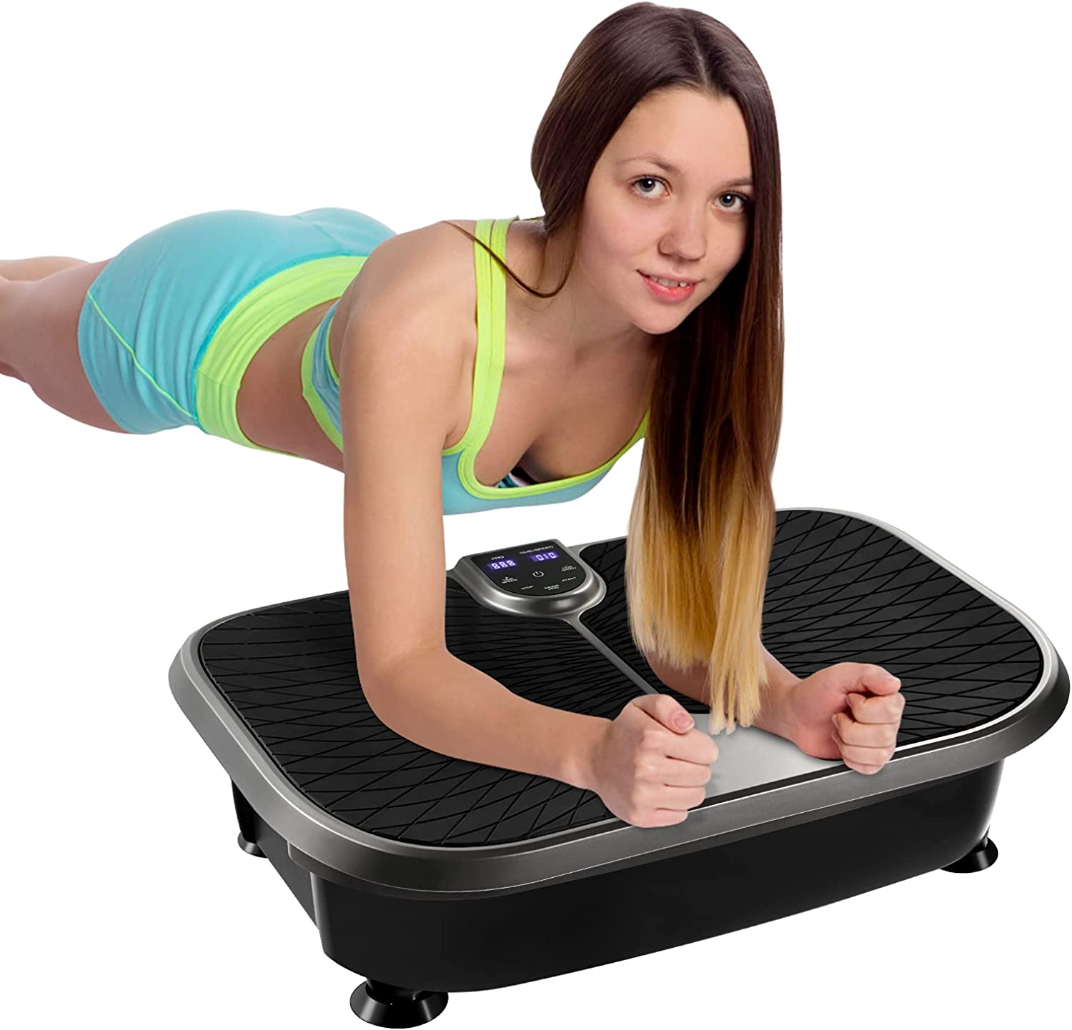 VICASKY Vibration Plate Exercise Machine Whole OFFicial Minneapolis Mall Workout Vibr Body
