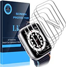 LK [6 Pack] Screen Protector for Apple Watch Series 6 / SE 40mm,[Model No. KR425] [Max Coverage] [Self-Healing] [Bubble Fr...