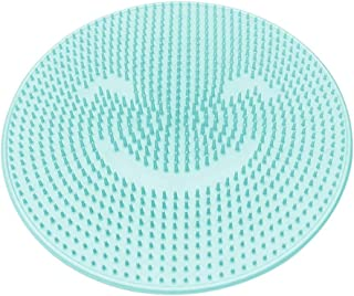 Shower Foot Massager Scrubber, Lesgos Shower Foot Scrubber Brush Cleaner Massager Mat Foot Cleaner with Non-Slip Suction C...