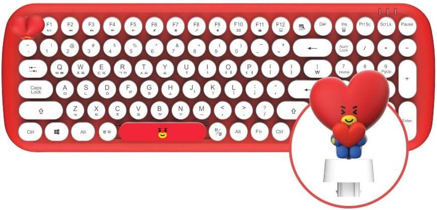 BT21 Baby Wireless Retro Keyboard by Royche (TATA)