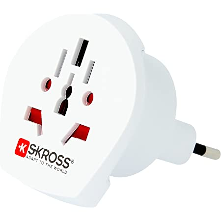 Skross Adapter/Adattatore da Viaggio World to Italy