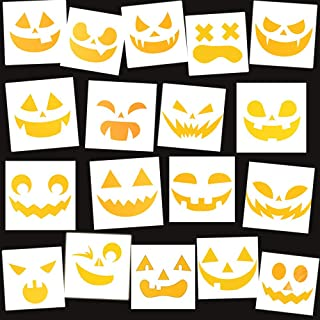 Best scary face pumpkin stencil Reviews