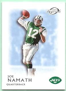 Joe Namath 2011 Topps Legends Blue #1 - New York Jets