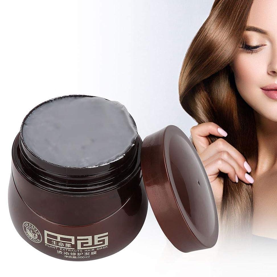司教パンサーによるとヘアマスク、染毛剤ダメージヘアナリッシングリペアマスクトリートメントコンディショナープロのヘアサロンや家庭での使用に最適500ml