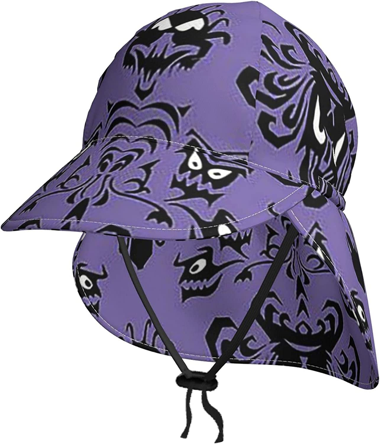 Haunted Max 80% OFF Mansion Kids Sun In a popularity Hat Neck with Breat Flap Summer