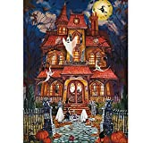 Best Puzzles - Halloween Fright Night 500 Pieces Jigsaw Puzzles Review