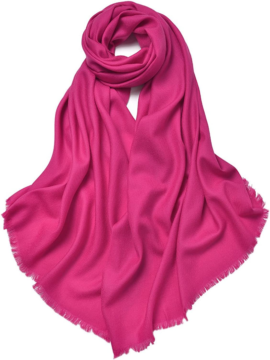 2017 Women's Autumn And Winter Long Solid color Scarf Shawl Dual The New,6OneSize