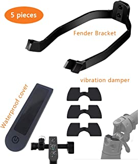 Rear Fender Bracket Mudguard Support,Waterproof Cover,3 Piece Rubber Vibration Damper for Xiaomi M365/M365 pro