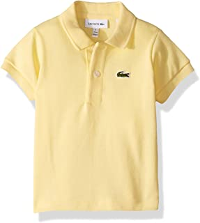 6f8e679d433f30 Lacoste Boy Short Sleeve Classic Pique Polo