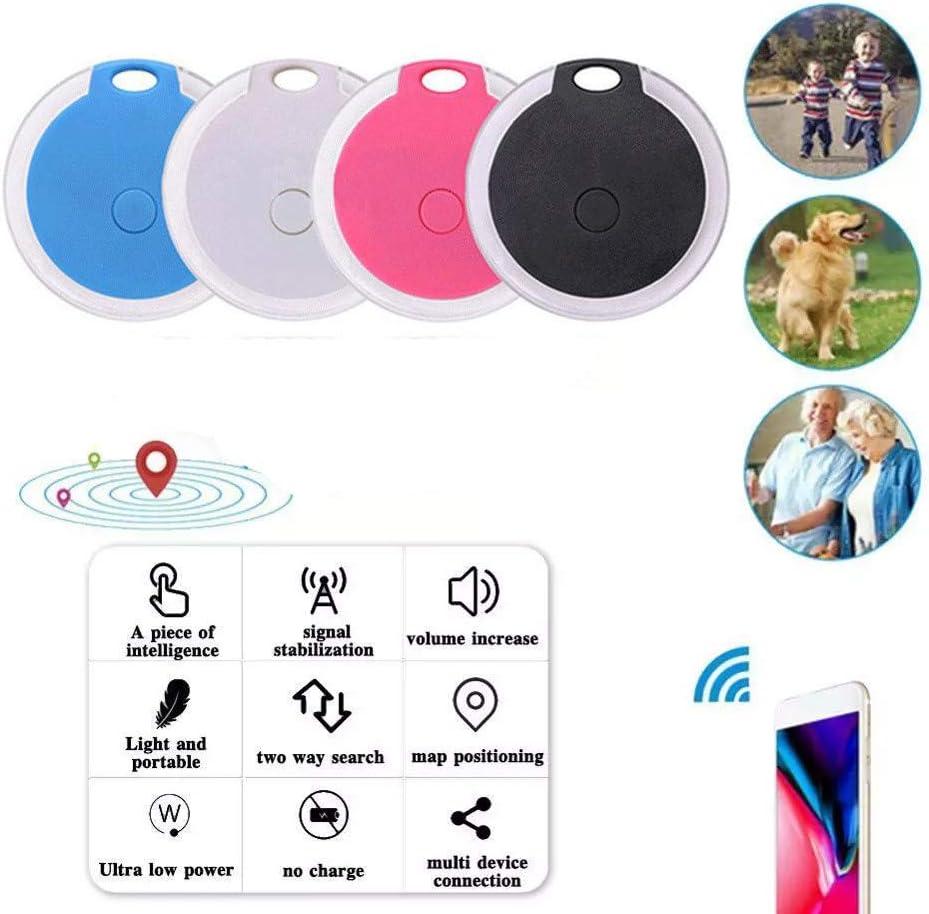 Pink Smart Bluetooth Tracker & Bluetooth Key Finder Wireless Anti ...