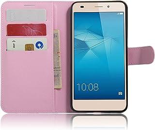 Manyip PU Flip Leder Tasche Hülle Case Cover Handytasche Schutzhülle Etui Skin Für Huawei Honor7 Lite/Huawei GT3/Huawei Honor 5C,Wallet mit Kartenfächer Design Schutz Protektiv Case Etui (JFC6 10)