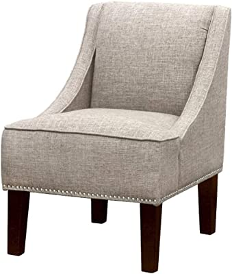 Amazon.com: Hebel Swoop Geometric Accent Chair | Model ...