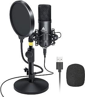 Kit de micrófono USB 192KHZ / 24BIT MAONO AU-A04T Micrófono Condensador Profesional Plug & Play para PC, MAC y PS4, Microf...