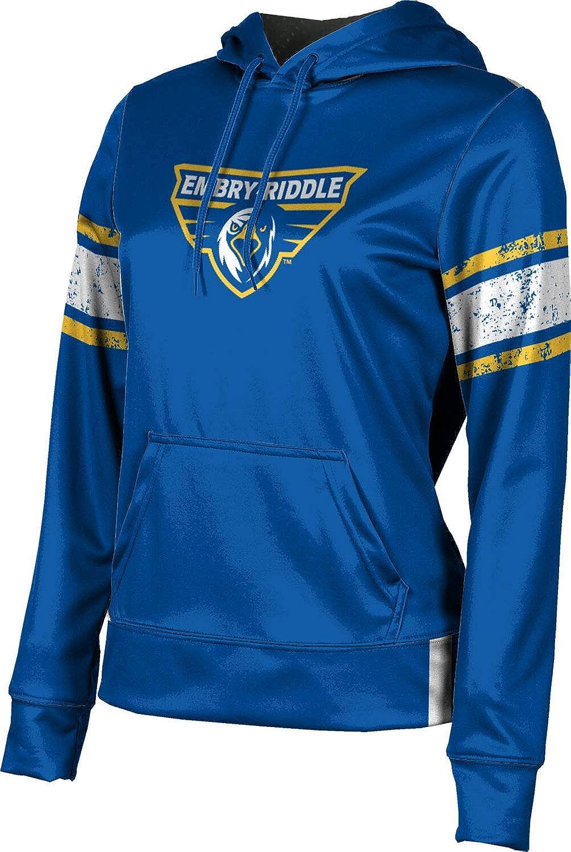 Embry-Riddle Aeronautical University Prescott Girls' Pullover Hoodie, School Spirit Sweatshirt (End Zone)