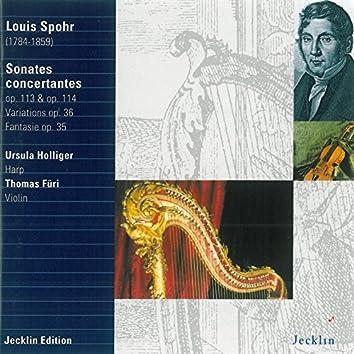 Louis Spohr: Sonates concertantes, Op. 113, 114, Variations, Op. 36 & Fantasie, Op. 35