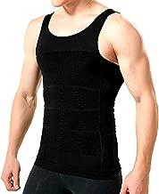 Mens Compression Shirt to Hide Gynecomastia Moobs Slimming Body Shaper Vest
