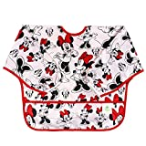 Bumkins Disney Baby Waterproof Sleeved Bib, Minnie Classic, 6 - 24 meses