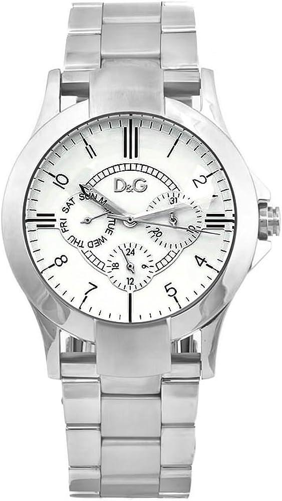 Dolce & gabbana,orologio per donna,in acciaio inossidabile DW0347