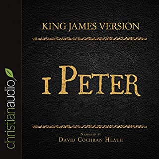 Holy Bible in Audio - King James Version: 1 Peter cover art
