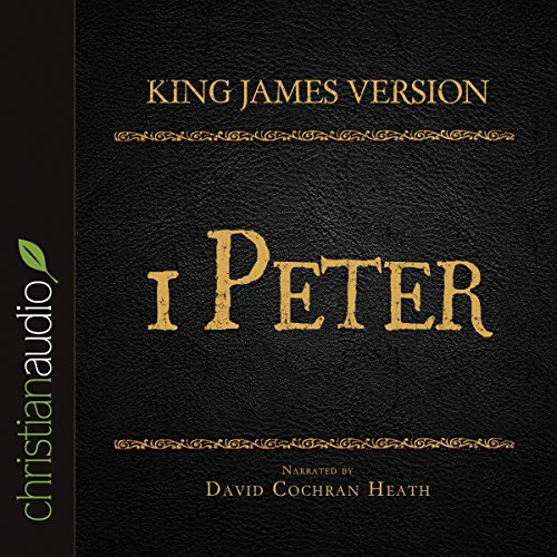 Holy Bible in Audio - King James Version: 1 Peter audiobook cover art