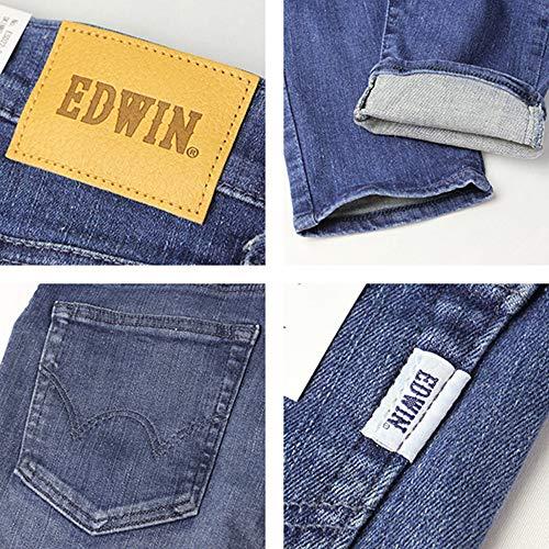 エドウィンEDWINジーンズデニムパンツE-STANDARDSKINNYスキニーエドウイン日本製国産ストレッチ伸縮性ESD2201.ブラックXS
