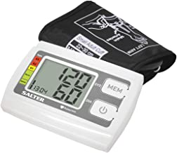 Salter Automatic Upper Arm Blood Pressure Monitor For Home Use, Heartbeat Detector, Hypertension Indicator - Based on World Health Organisation Guidelines, 60 Memories, 32-42cm Cuff