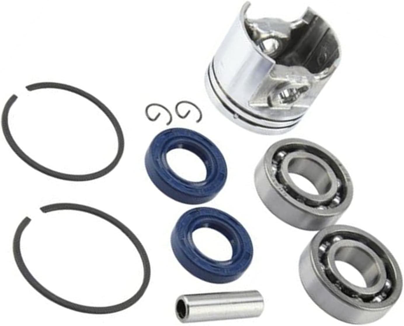 CFDYKRP Sello de Aceite de cojinete del Anillo del pistón del cigüeñal Kit de 37 mm for stihl MS170 Piezas de Motosierra