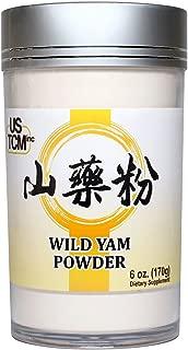 Wild Yam Powder Rhizoma Dioscoreae Powder Chinese Yam Powder Shan Yao Powder 山藥粉 淮山粉 120mesh (6oz)