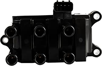 Ignition Coil Pack for 01-08 Ford - F150 Ranger Freestar Mustang Taurus - Mazda B3000 - Mercury Sable Monterey - V6 3.9L 4.0L 4.2L 2.5L 3.0L 3.8L Compatible with C1312 DG485 FD498