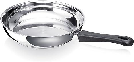 Beka 20205824 Gourmet Steack Poêle à Frire en acier inoxydable 24 cm Casseroles, poêles et faitouts